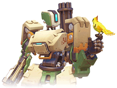 Bastion Héros Overwatch