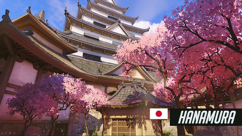 Map Hanamura Overwatch