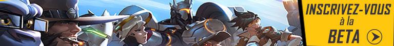 Overwatch banniere beta