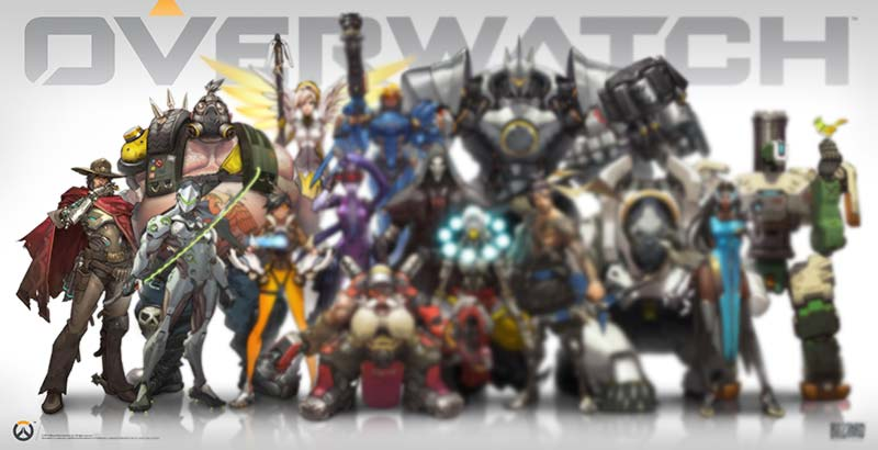 Personnages cachés Overwatch