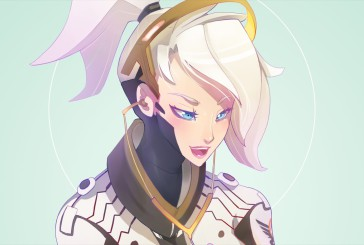 Speed painting Overwatch : Ange