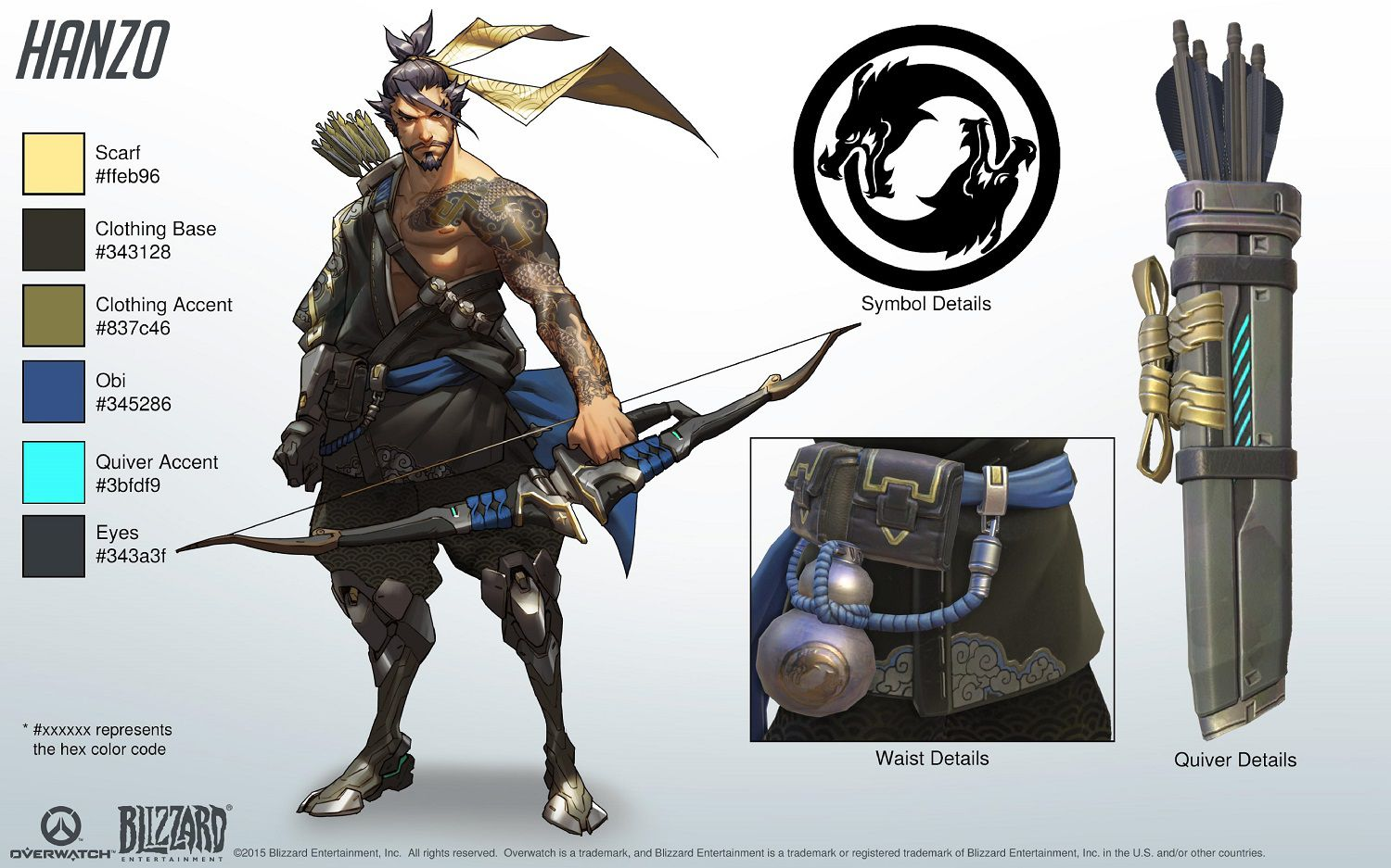 Cosplay Du H 233 Ros Hanzo Overwatch France
