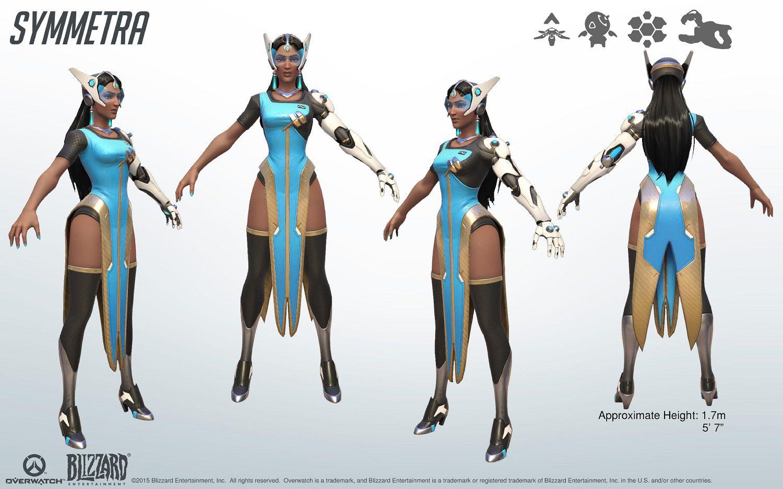 Kit de référence cosplay Symmetra