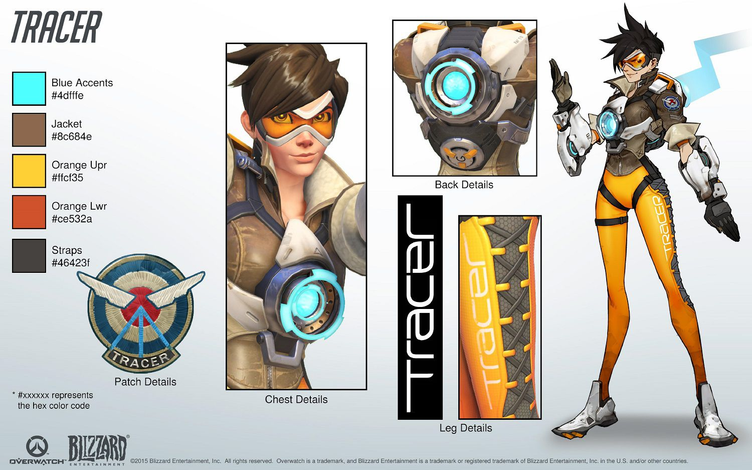 Character Design Process Pdf : Cosplay du héros tracer overwatch france