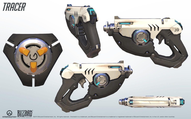 Kit de référence cosplay Tracer