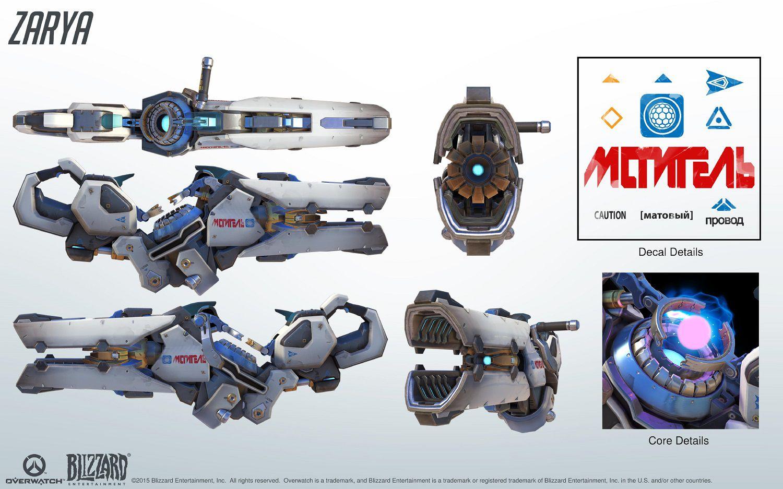 Kit de référence cosplay Zarya