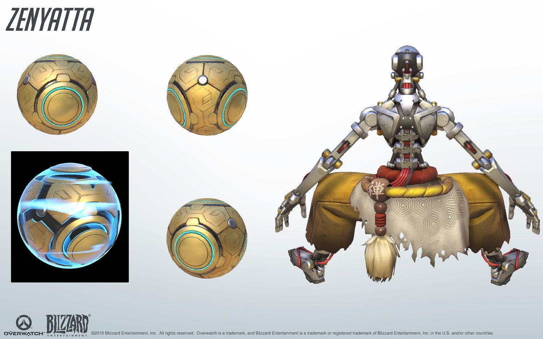 Kit de référence Zenyatta Overwatch