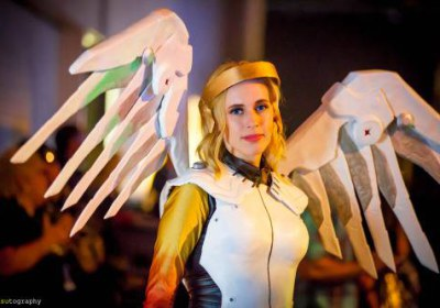 Cosplay Ange en convention