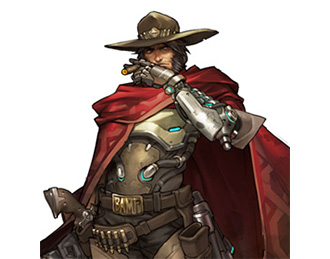 Héros McCree Overwatch