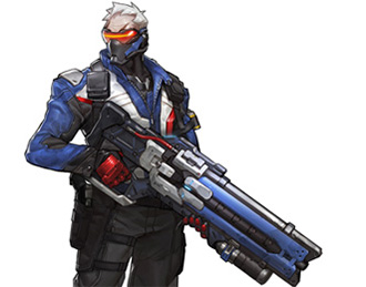 Héros Soldier 76 Overwatch