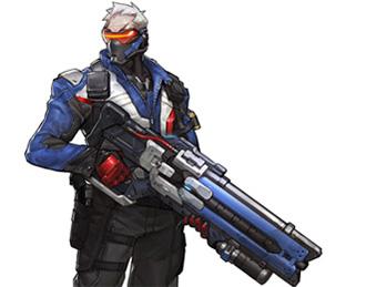 Héros Soldier 76 Overwatch