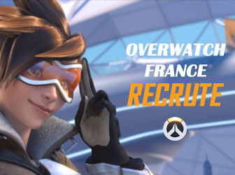 Recrutement Overwatch France