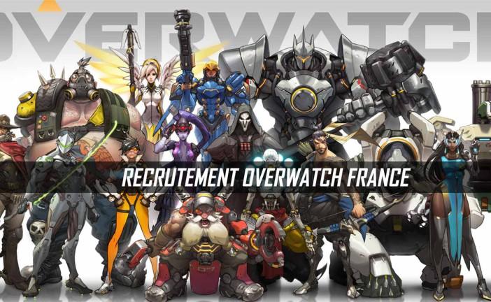 OverwatchFrance recrute de nouveaux profils !