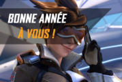 Bonne année de l'équipe d'Overwatch France !