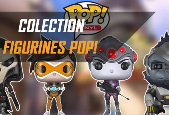 La série des figurines POP d'Overwatch s'étoffe !
