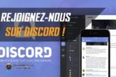 Rejoignez-nous sur Discord !