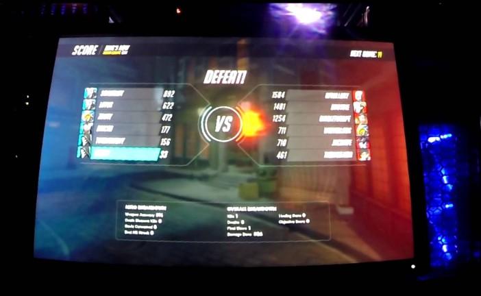 Quelques parties d'Overwatch filmées à la Blizzcon