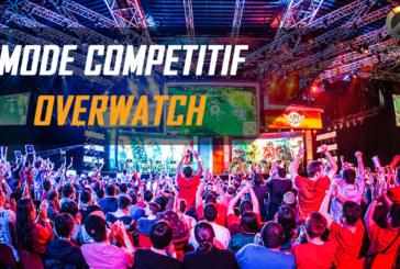 Le mode compétitif d'Overwatch est lancé !