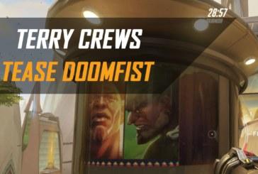 Terry Crews fait une nouvelle référence à Doomfist